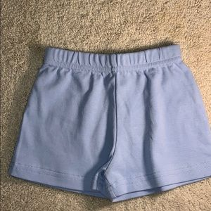 Basic Knit Shorts in Blue by Baby Luigi 24 months